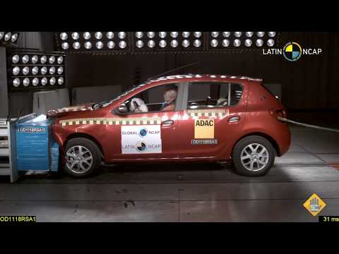 Crash test Renault Sandero 2018