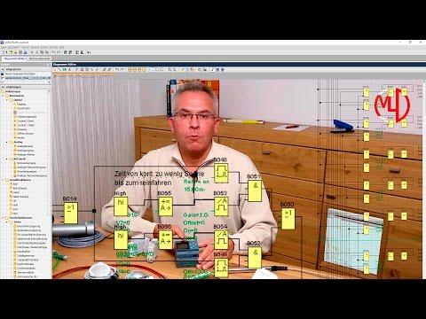 Siemens LOGO! 8 programmieren Anwendungsbeispiel Tutorial Deutsch - Ethernet Webserver TDE DIY Licht