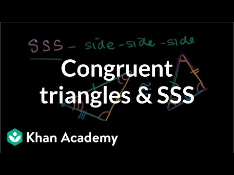 A thumbnail for: Congruent triangles