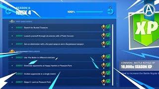 NEW Fortnite WEEK 4 CHALLENGES // 1950+ Wins // Use Code: byArteer (Fortnite Battle Royale LIVE)
