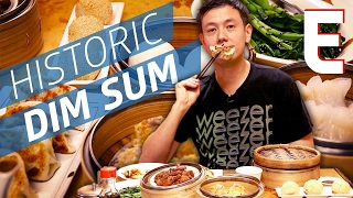 The Oldest Dim Sum House In San Francisco at Hang Ah Dim Sum Tea House — Dining on a Dime - Video Youtube