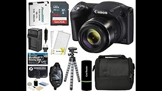Canon Powershot SX420 IS 20 MP Wi Fi Digital Camera with 42x Zoom Black Includes  Canon