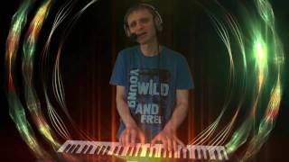 Макс Фадеев Танцы на стеклах CJ AKO Cover Кавер на Korg Kross 61 Максим Пианино на Синтезаторе