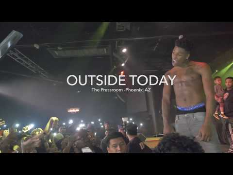 NBA YoungBoy Performing