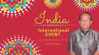 EN: India International Event (26th & 27th September 2020)