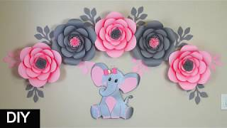 How To Make A Cute Baby Elephant    DIY Baby Shower Decorations Girl