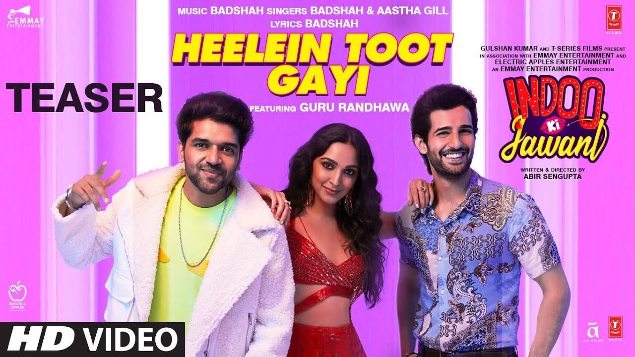 Heelein Toot Gayi Lyrics - Badshah, Guru Randhawa Full Song Lyrics | Lyricworld