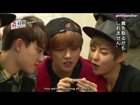 ENG SUB 160108 EXO's Showtime Special Edition EP7 Unseen Cut
