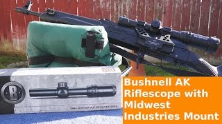 Bushnell 1-4x AK Riflescope and Mount Review- Part 1