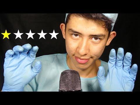 ASMR worst reviewed plastic surgeon