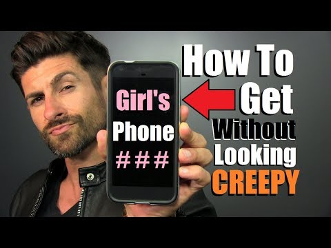 How To Get A Girls Phone Number Without Being CREEPY!!!