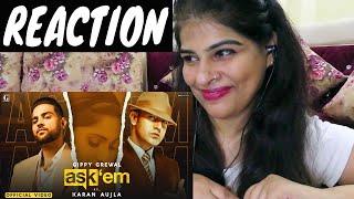 ASK THEM : Gippy Grewal Ft. Karan Aujla - REACTION