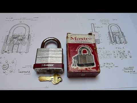 Master Lock No.19 High Security Padlock