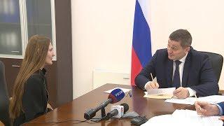 Губернатор Андрей Бочаров провел личный прием граждан