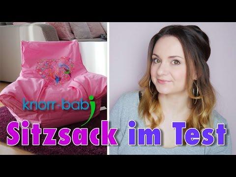 Test: Knorr Baby Sitzsack | babyartikel.de