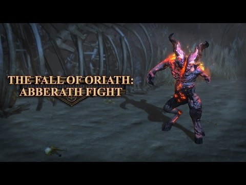 Path of Exile: The Fall of Oriath Teaser - Abberath Fight thumbnail