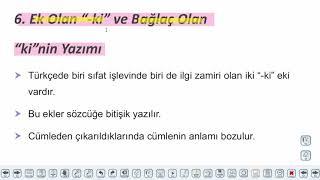 Eğitim Vadisi TYT Türkçe 11.Föy Yazım Kuralları - 2 Konu Anlatım Videoları