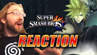MAX REACTS: Cloud Revealed for Smash Bros