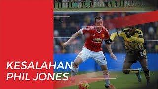 Bermaksud Amankan Bola, Phil Jones Lakukan Blunder saat Manchester United Kontra Sheffield