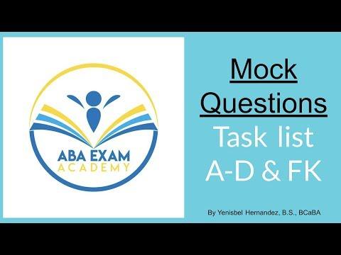 BCBA mock exam questions to pass the BCBA exam (Part 1 ...