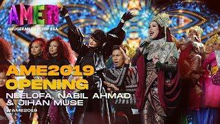 AME2019 Opening | Blackpink - Neelofa, Nabil, Siti Nurhaliza - Jihan I Anugerah MeleTOP ERA - dooclip.me
