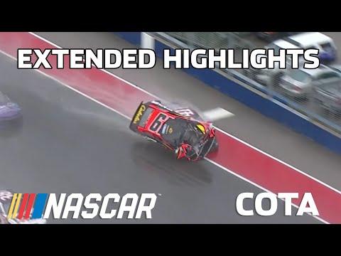 NASCAR カップシリーズレース at COTA(サーキット・ジ・アメリカ)のハイライト動画