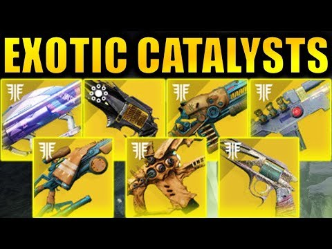 ALL Upcoming Exotic Weapon Catalysts! - Destiny 2: Shadowkeep