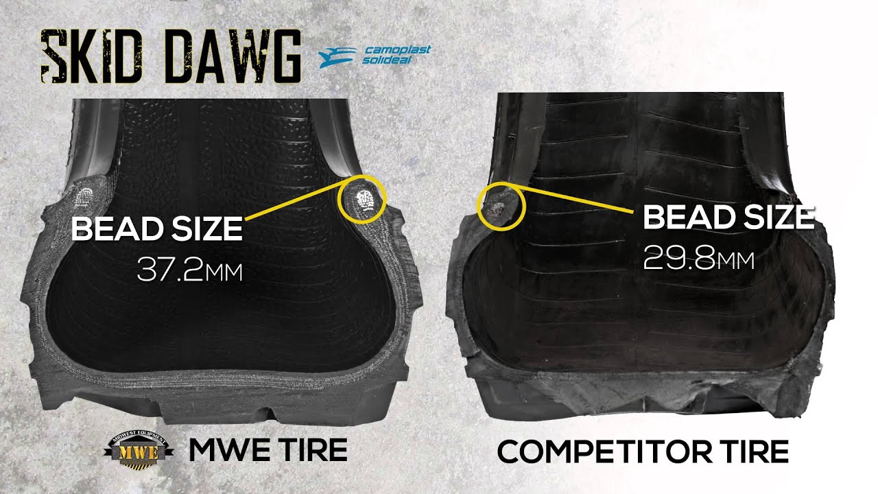 DARE TO COMPARE | High Quality Skid Steer Tires by