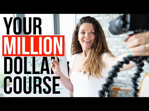 3 steps to create your *million dollar* online course idea! - YouTube