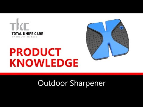 Product Knowledge/Demo - OUTDOOR KNIFE SHARPENER