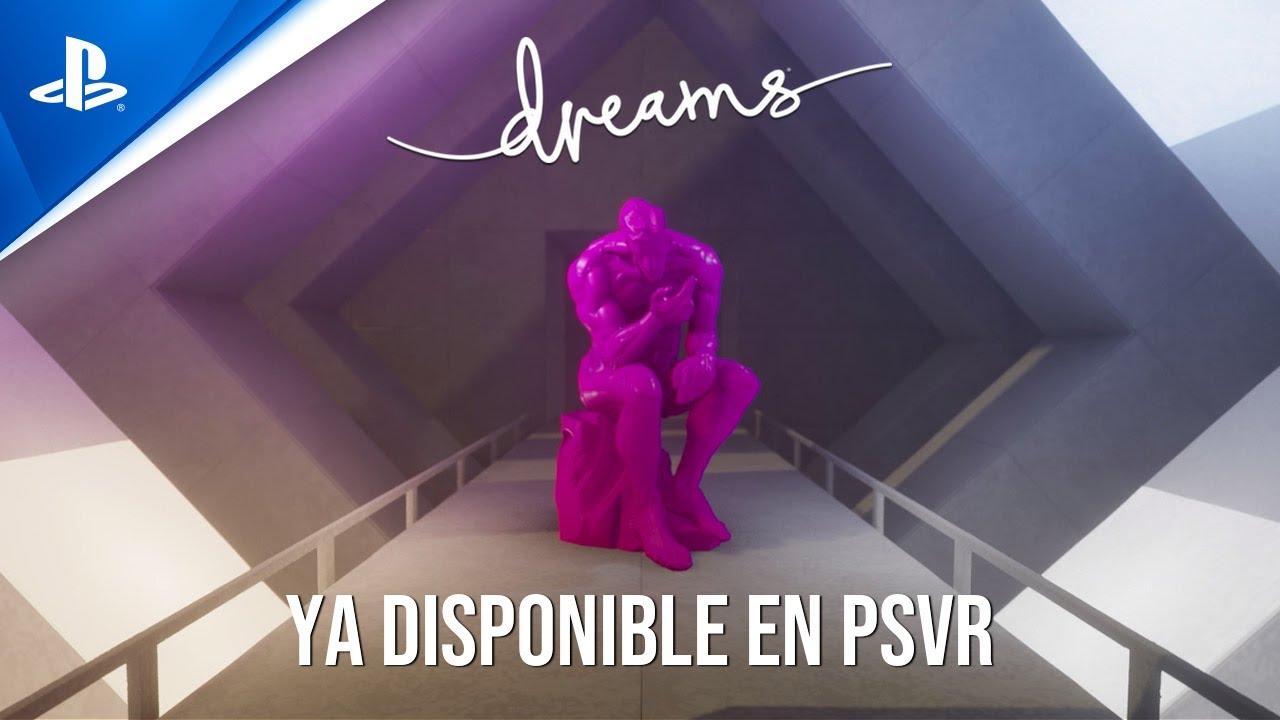 Dreams es ahora también compatible con PlayStation VR