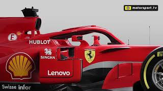 The technical changes on Ferrari's 2018 F1 car
