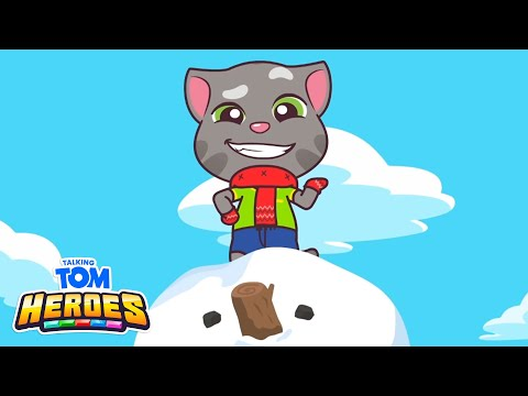 Download Talking Tom Heroes - The Lonely Yeti (Episode 9) HD Mp4 3GP Video and MP3