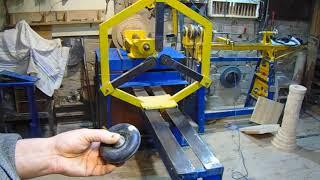 Самодельный деревообрабатывающий станок .Многофункциональный , на нём можно делать  следующие операций : распиливать древесину шлифовать , торцевать , калибровать , сверлить ,  точить ( токарная обработка )