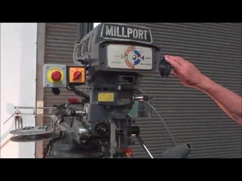 "Millport 3 HP 9"" x 42"" Vertical Milling Machine 3V"
