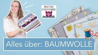 """Nastjas Stoffkunde: BAUMWOLLE – eigentlich meinen wir """"Webware""""!"""