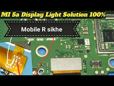 Download Xiaomi 5a Display Light Solution 100 Tested Working