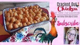 Cook with Me 🍴 Cracked Out Chicken Casserole 🍴 Easy Peasy Recipe