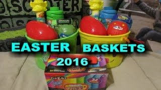 EASTER BASKETS IDEAS FOR BOYS AGE 6 & 3 *2016*