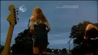 THE ZUTONS - PRESSURE POINT @ V FESTIVAL 2008