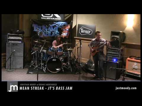 Jonathan Moody - Mean Streak (live at JT's Bass Jam)