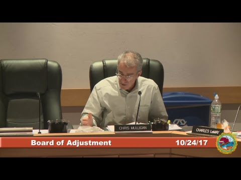 Board of Adjustment 10.24.2017