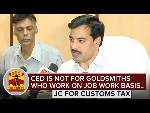 Central-Excise-Duty-is-not-for-Goldsmiths-working-on-Job-work-basis--JC-Customs-tax