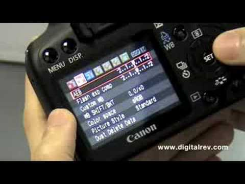 Canon EOS 1000D - First Impression Video by DigitalRev