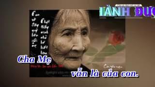 Nỗi Lòng Của Con (Remix) (Trách Ai Vô Tình Chế) – Lâm Chấn Khang