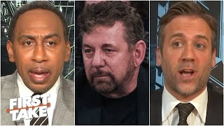 Stephen A. & Max criticize James Dolan for his follow-up memo to MSG employees | First Take