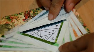 Hermosa Técnica Y Muy Fácil  Iris Folding  Diy
