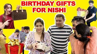 Best Birthday SURPRISE By NISHI's FIANCEE