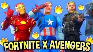 i recreated superhero skins in fortnite - new all leaked fortnite skins and emotes avenger skins lavish black widow