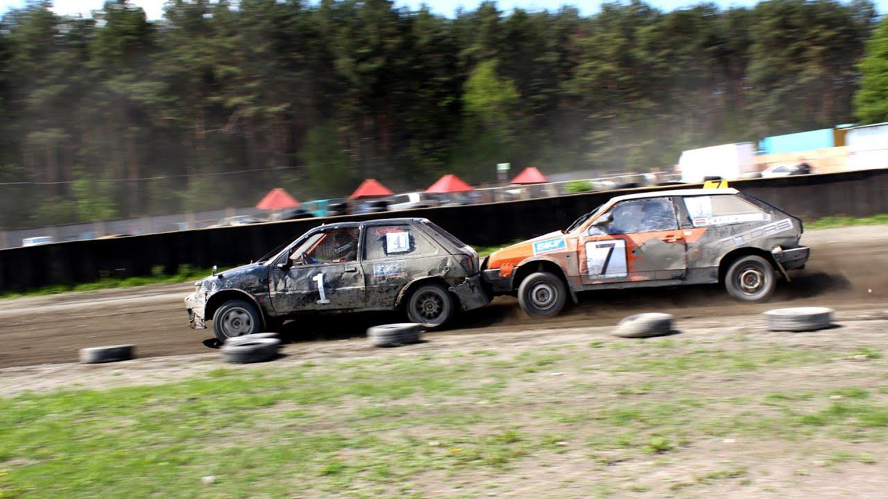 Трековые гонки. 1-й этап Чемпионата Республики Беларусь 2014 года по трековым автомобильным гонкам